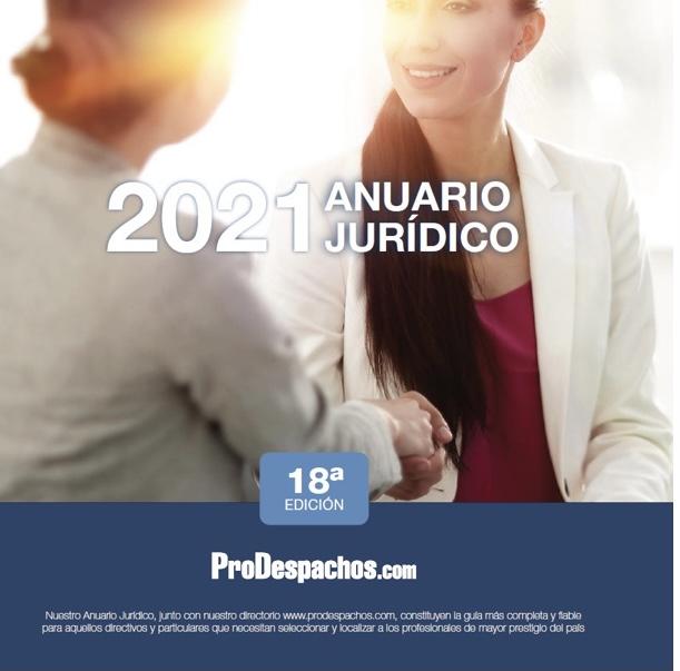 Ya puedes descargar el Anuario Jurídico 2021 de ProDespachos