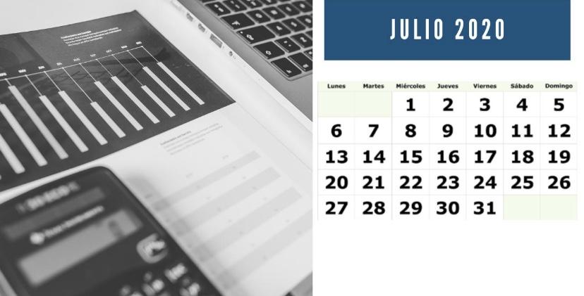 Recordatorio julio: declaraciones IVA, pagos fraccionados IRPF, Impuesto Sociedades y otros impuestos.