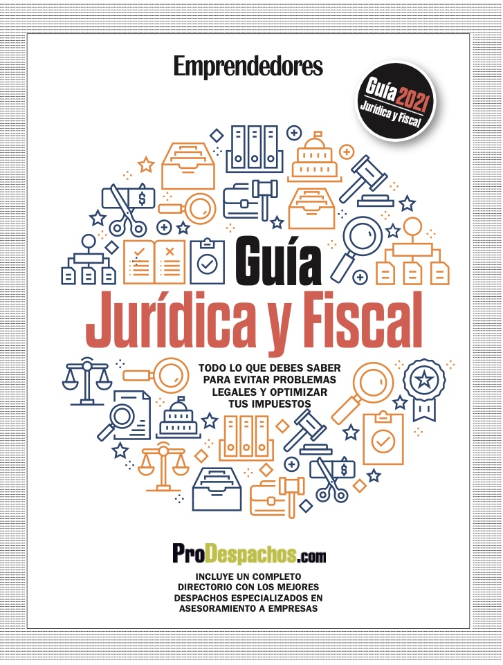 A punto de salir la Guía Jurídica y Fiscal de la revista Emprendedores