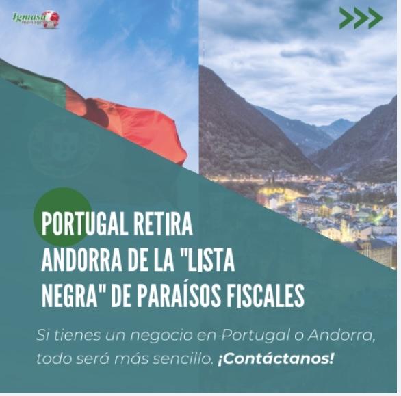 """A partir de este 2021 Portugal ha retirado al Principado de su """"lista negra"""" de paraísos fiscales."""