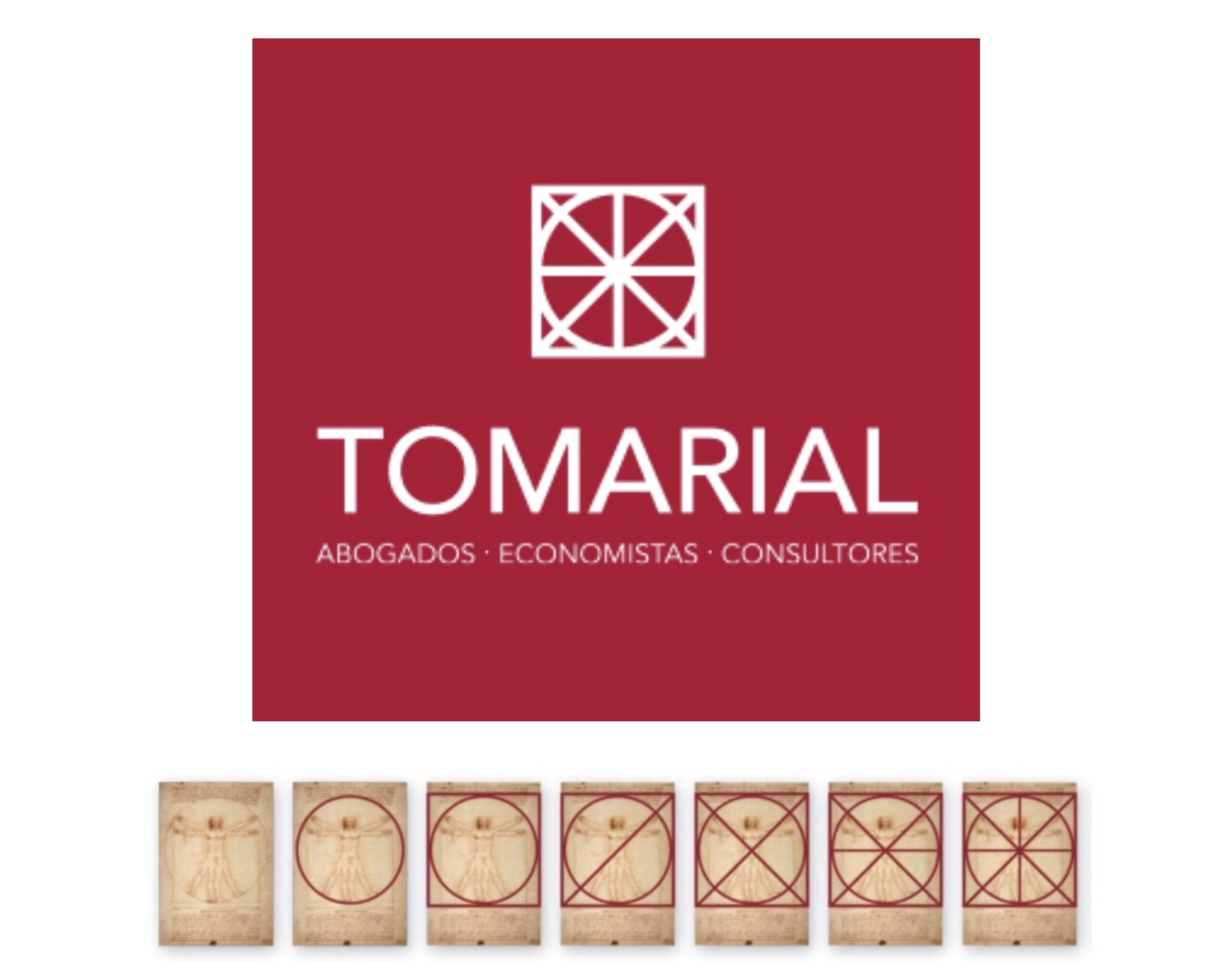 Tomarial renueva su logotipo como símbolo de la evolución y crecimiento del despacho