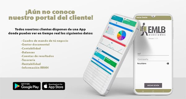 EMLB Asociados ya dispone de su app personalizada y de su portal del cliente