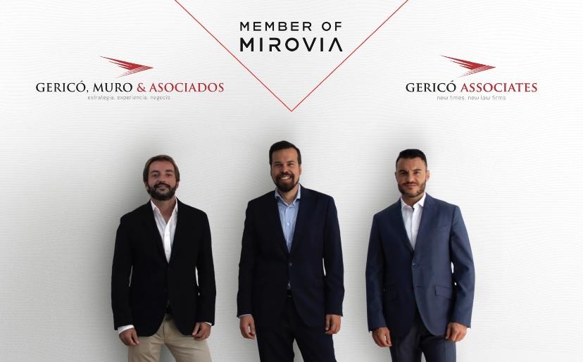 Gericó, Muro & Asociados se une a Mirovia,  la red internacional de consultoras  especializadas en el sector legal