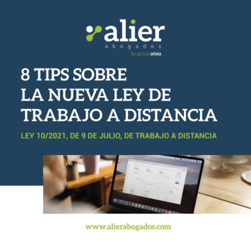 8 tips sobre la nueva Ley del Trabajo a distancia