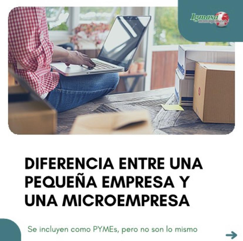Diferencia entre una pequeña empresa y una microempresa