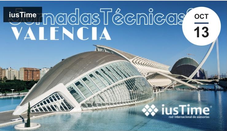 La red internacional iusTime celebra sus Jornadas Técnicas en Valencia.